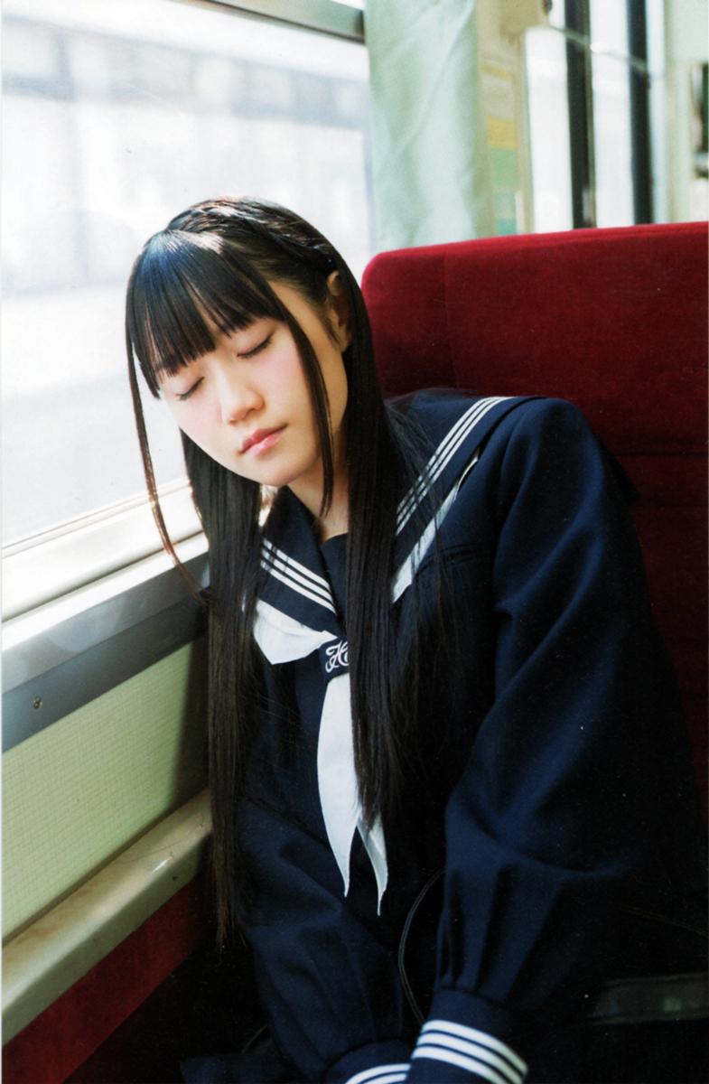 小倉唯の可愛い寝顔!