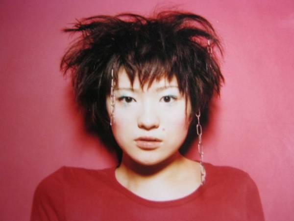 パンク風ヘア―スタイルの椎名林檎