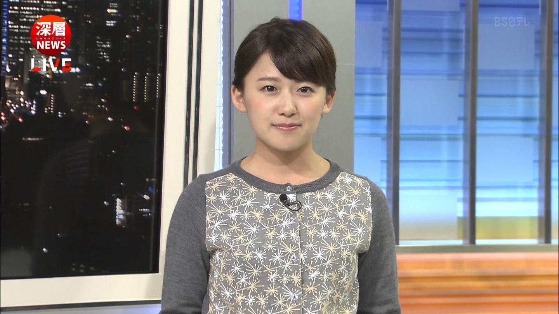 日テレ尾崎里紗アナウンサーがか...