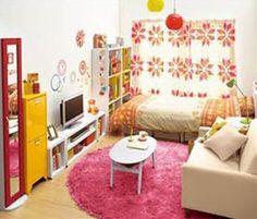部屋コーディネートハウツー♡一人暮らし女子の6畳・8畳レイアウトのサムネイル画像