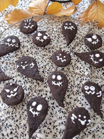 *卵乳製品不使用☆ハロウィンゴーストクッキー*|SAI dining *おうち薬膳*