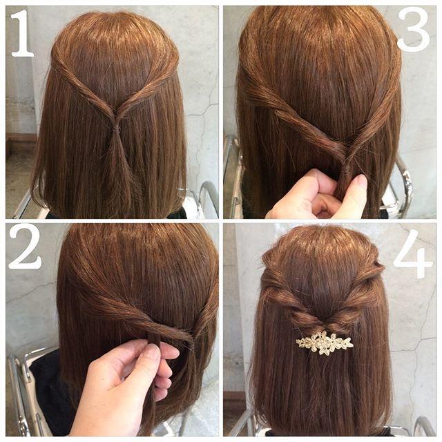 女の子の髪型・アレンジ・結び方まとめ【ショート・ボブ・入学式・