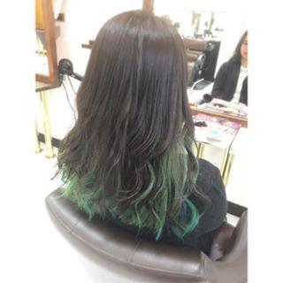 インナーカラーまとめ【ボブ・ロング・ピンク・黒髪・ショート・ミディアム】のサムネイル画像