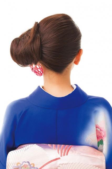 着物の髪型を簡単に自分で作る!【ロング・ミディアム・ボブ・ショート】のサムネイル画像