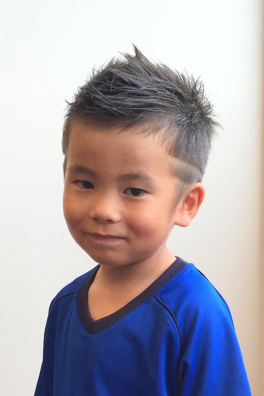 「男の子 子供 剃り込み」の画像検索結果