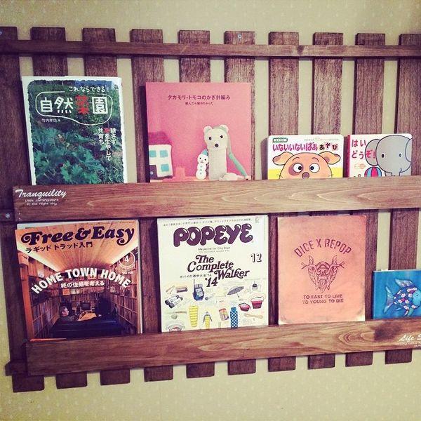 【DIY】棚・家具の作り方!100均で初心者も簡単!【壁面・絵本棚】のサムネイル画像