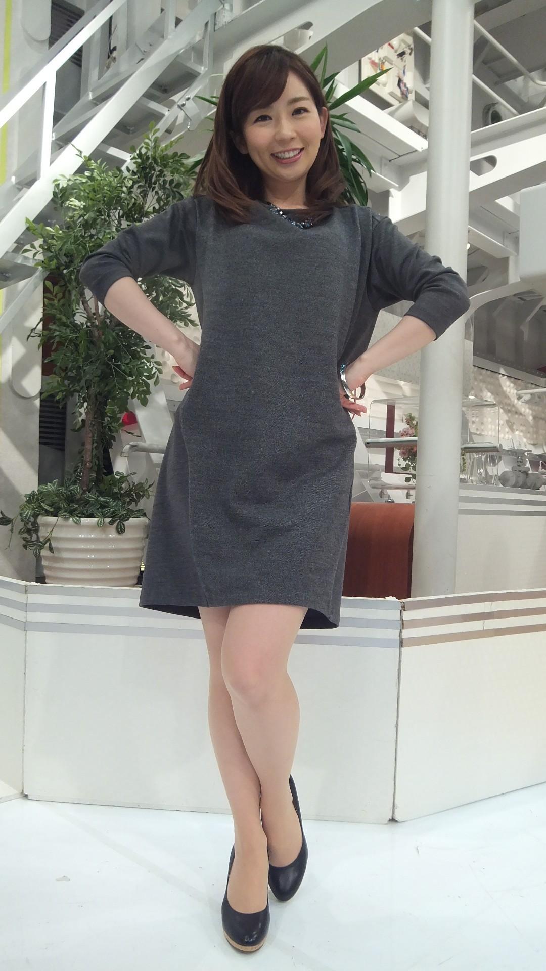 ワンピースが可愛い松尾由美子