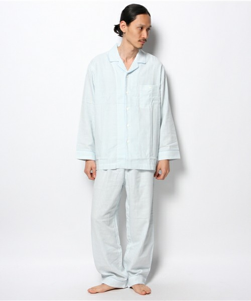 キッドブルー -KBガーゼストライプ -メンズ長袖パジャマ -MN28351PJ6 -kidblue(ルームウェア)|KID BLUE(キッドブルー)のファッション通販 - ZOZOTOWN