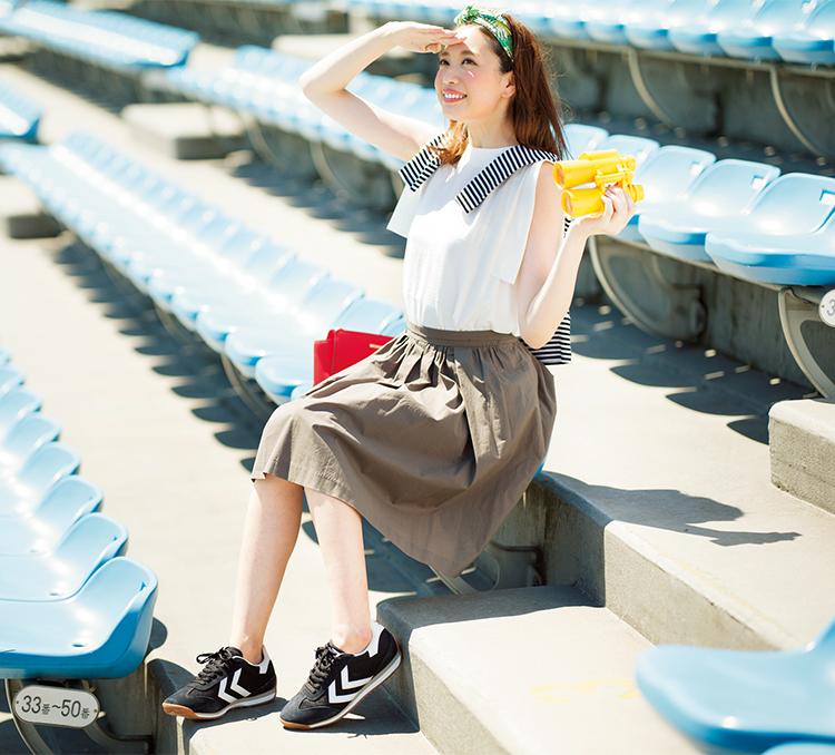 【カーキスカートコーデ2016-2017】秋冬から春夏まで使えるコーデ術!のサムネイル画像
