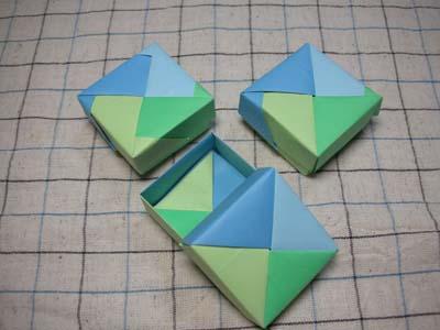 簡単 折り紙 折り紙 ユニット 箱 : pinky-media.jp