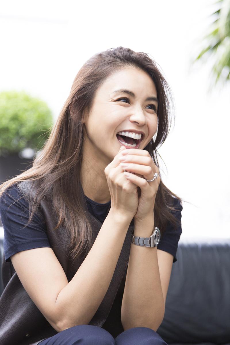 滝沢眞規子の笑顔画像