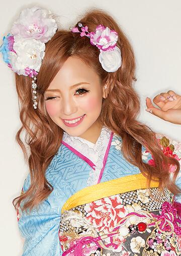 髪型 成人式髪型ロング編み込み : pinky-media.jp
