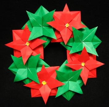 クリスマス 折り紙 折り紙 飾り : pinky-media.jp