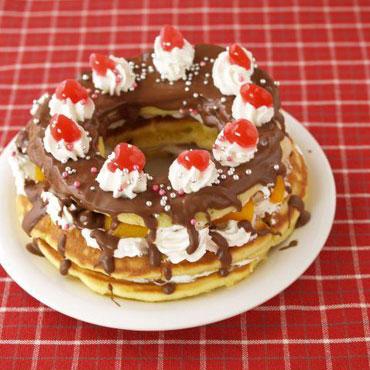 本格手作りクリスマスケーキ人気簡単レシピ特集!ブッシュドノエルやタルトレシピものサムネイル画像