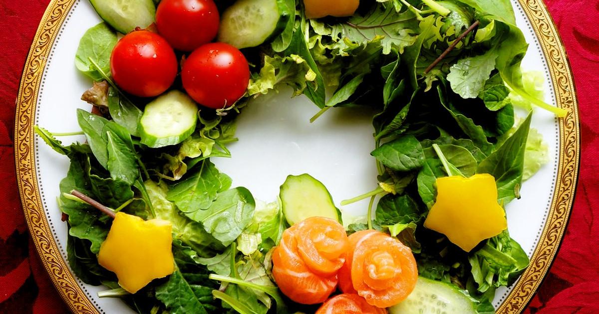 サーモンのX'masリースサラダ by Y's [クックパッド] 簡単おいしいみんなのレシピが254万品