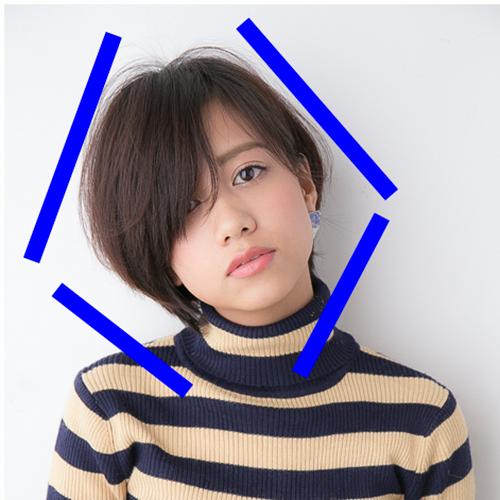 丸顔の髪型・前髪・ヘアスタイルまとめ【ボブ・ロング・ミディアム・ショート】のサムネイル画像