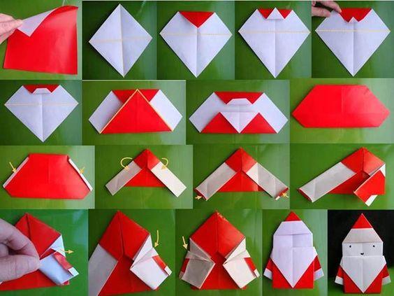 ハート 折り紙 サンタクロース 折り紙 作り方 : pinky-media.jp