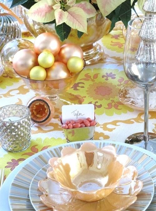 クリスマスのテーブルコーディネート・セッティングは100均で簡単に!のサムネイル画像