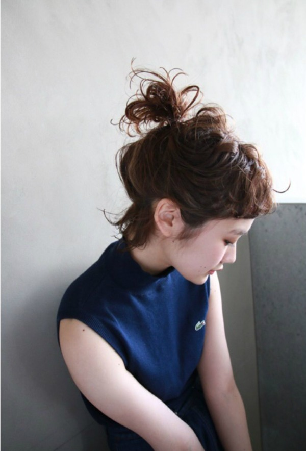 黒髪ボブアレンジまとめ【ストレート・前髪なし・前髪あり・丸顔・面長】のサムネイル画像