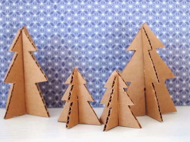 クリスマスツリーを手作りで!ダンボールや布を使って簡単に作ろう!のサムネイル画像