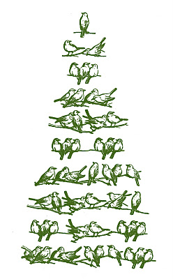 クリスマスツリーのイラスト・手書き絵の画像まとめ!【無料・フリー素材】のサムネイル画像