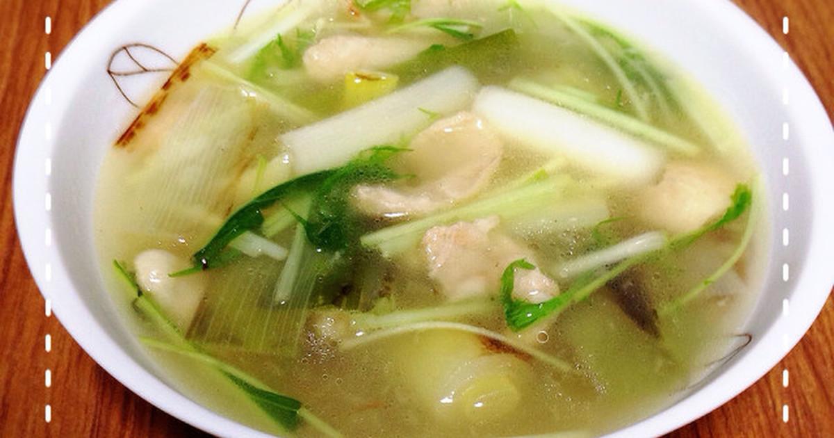風邪予防☆ネギと生姜の薬膳スープ by ちこりーたママ [クックパッド] 簡単おいしいみんなのレシピが255万品