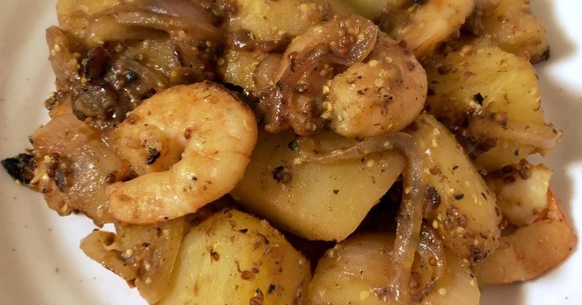 【冬の薬膳】えびとじゃが芋マスタード炒め by H♡Garden [クックパッド] 簡単おいしいみんなのレシピが255万品