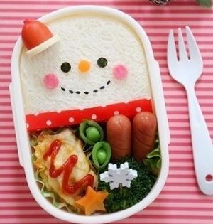 クリスマスのお弁当はキャラ弁当に!簡単人気のサンタ弁当レシピまとめ!のサムネイル画像