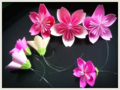折り 折り紙 折り紙 桜 作り方 : pinky-media.jp