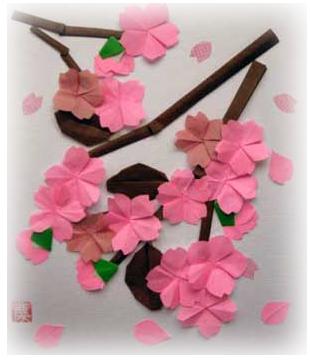 クリスマス 折り紙 : 折り紙 桜 : pinky-media.jp