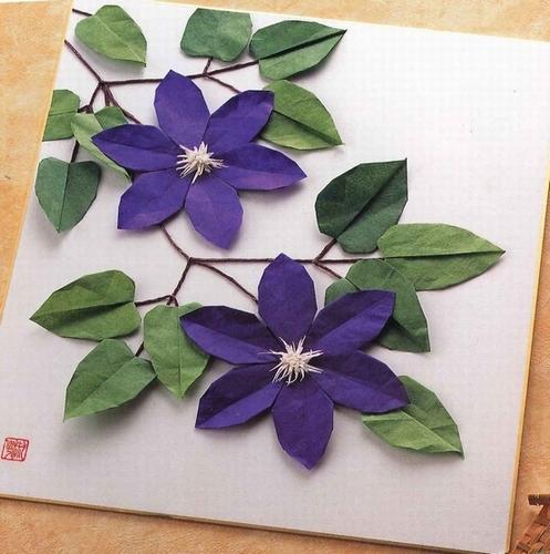 ハート 折り紙:折り紙 花 立体 バラ-pinky-media.jp