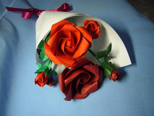 ハート 折り紙 折り紙 バラの花 : pinky-media.jp