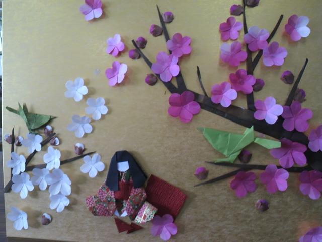 ハート 折り紙 折り紙梅の花折り方 : pinky-media.jp