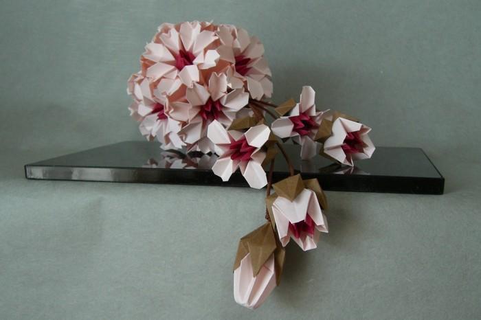 折り紙の 折り紙 桜の花びら : pinky-media.jp