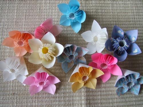 バラ 折り紙 折り紙 お花の折り方 : pinky-media.jp