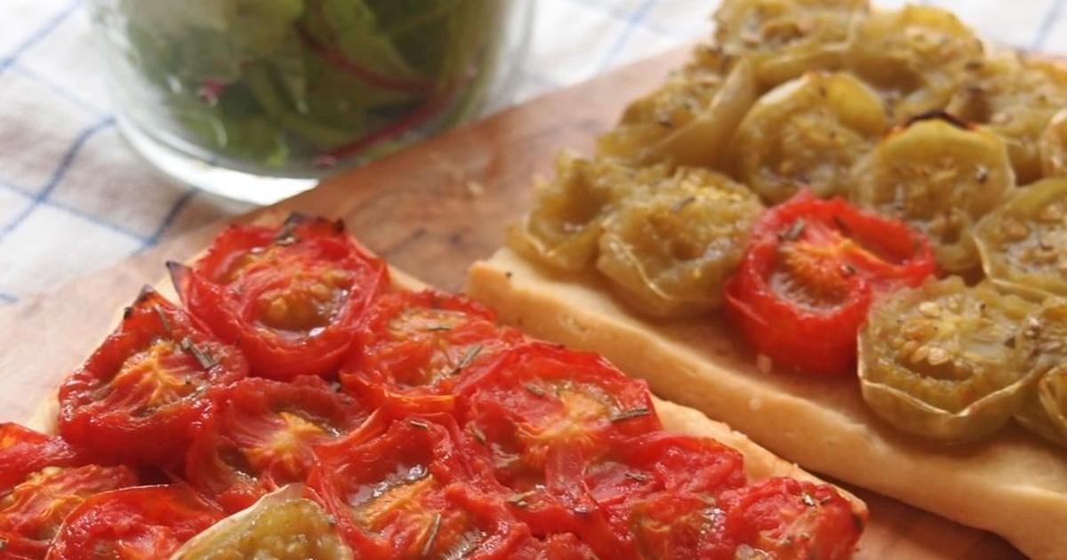 ミニトマトのプロヴァンス風タルト by MERCATO赤坂 [クックパッド] 簡単おいしいみんなのレシピが255万品