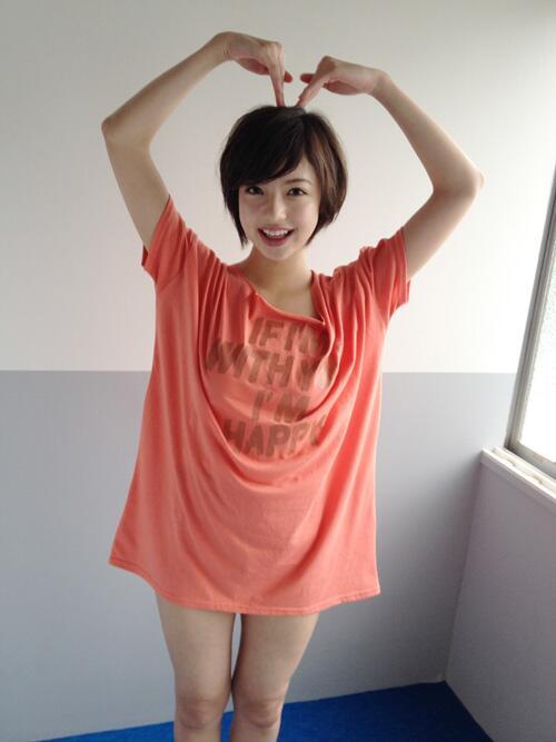 ピンクのシャツが可愛い和田まあや