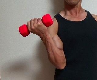 ダンベルカールのやり方が知りたい!平均重量や正しいフォーム・効果まとめのサムネイル画像