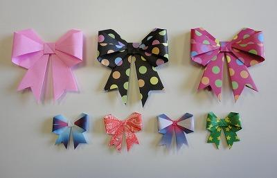 クリスマス 折り紙 折り紙 リボン : pinky-media.jp