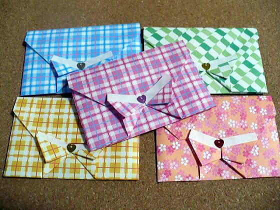 ハート 折り紙 折り紙 封筒の折り方 : pinky-media.jp
