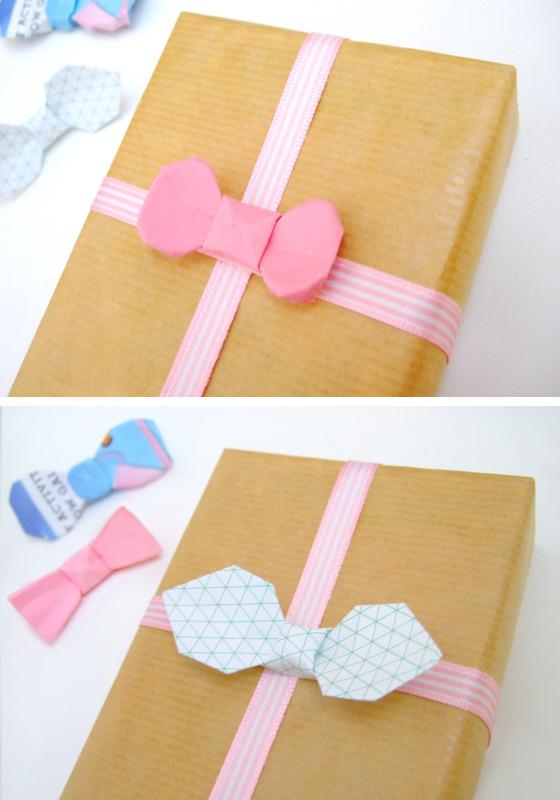 ハート 折り紙 : リボンの折り方 折り紙 : pinky-media.jp