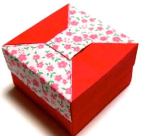ハート 折り紙 折り紙 可愛い箱 : pinky-media.jp