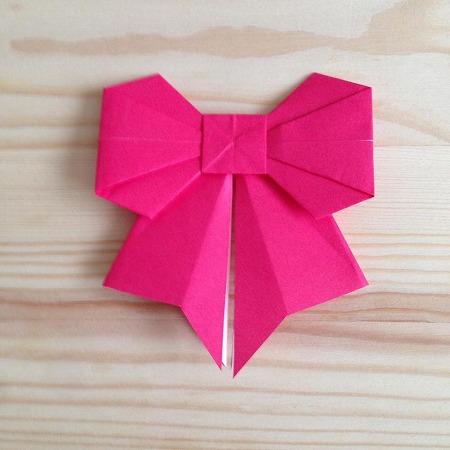 クリスマス 折り紙 折り紙 リボン 折り方 : pinky-media.jp