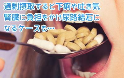 ビタミンCの過剰摂取はニキビに悪影響?こんな症状は副作用かも!のサムネイル画像
