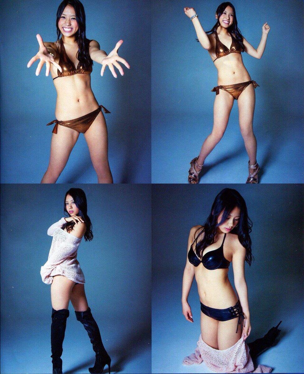 沖田彩華の水着グラビア画像まとめ!あーぽんはとってもセクシーです!のサムネイル画像