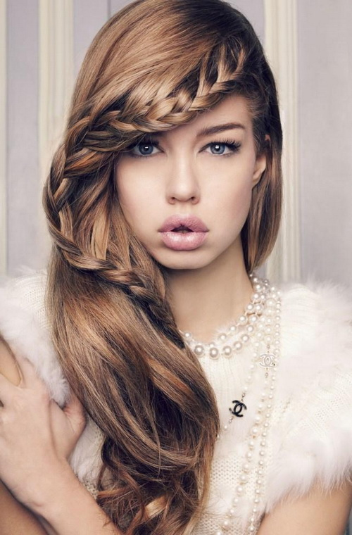 Best Hairstyle For Long Face Girl : Pinky