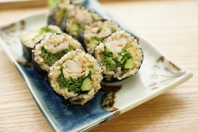太らないレシピ「ヘルシー巻き寿司」   ダイエットプラス