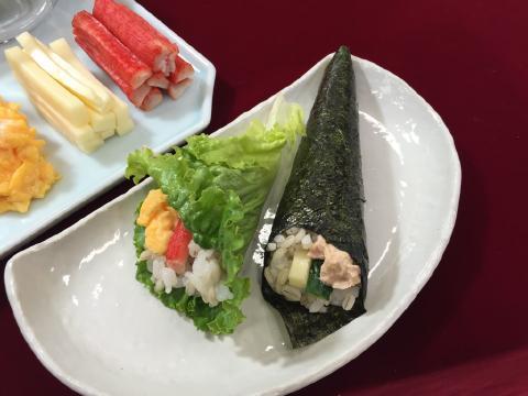 ちらし寿司のカロリーは減らせる!巻き・手巻き寿司もダイエットに向いている!のサムネイル画像