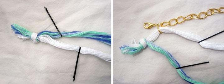 手作りブレスレットの簡単な作り方&編み方紹介!材料は100均!のサムネイル画像