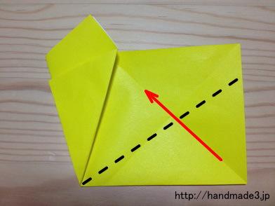 折り紙~星の折り方No.1 はさみぼしの作り方